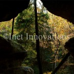 Hocking Hills Rock House - Looking Out | Image 1